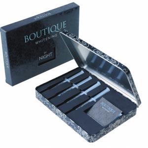 wybielanie zębów materiałem Butique zapewnia piękny uśmiech